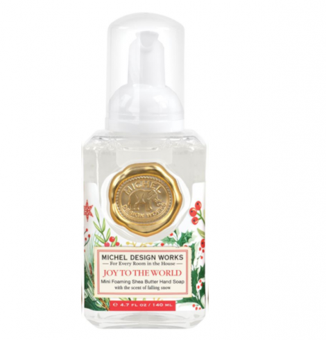 A photo of the Mini Foaming Hand Soap In Joy To The World product