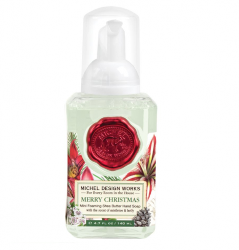 A photo of the Mini Foaming Hand Soap In Merry Christmas product