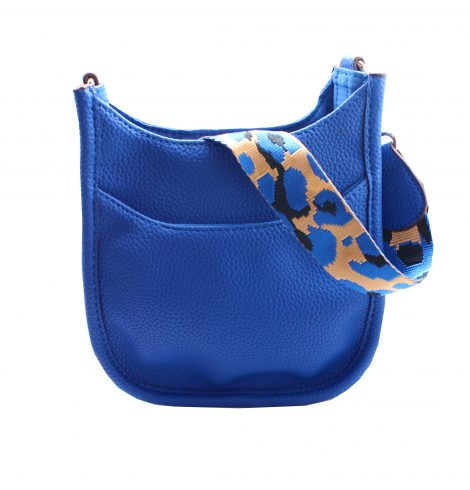 A photo of the Mini Messenger Bag In Royal Blue product