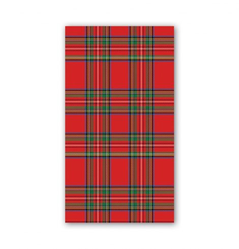 A photo of the Tartan Guest Towel Napkins product
