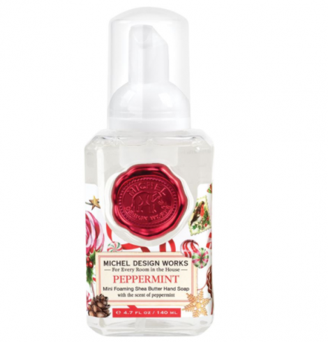 A photo of the Mini Foaming Hand Soap In Peppermint product