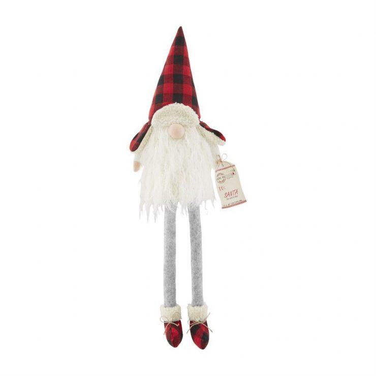 A photo of the Santa Dangle Leg Gnome product