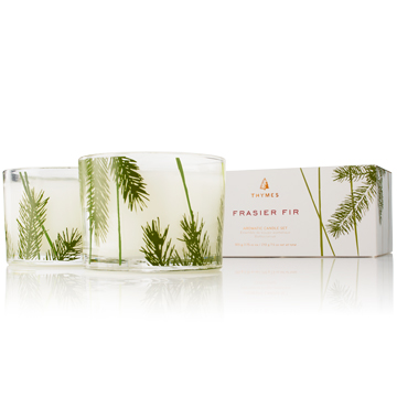 A photo of the Frasier Fir Candle Set product