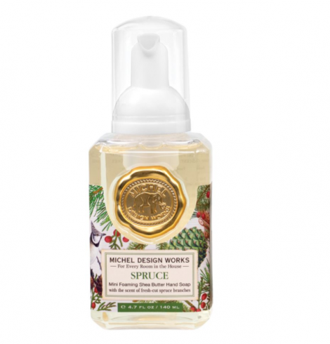 A photo of the Mini Foaming Hand Soap In Spruce product