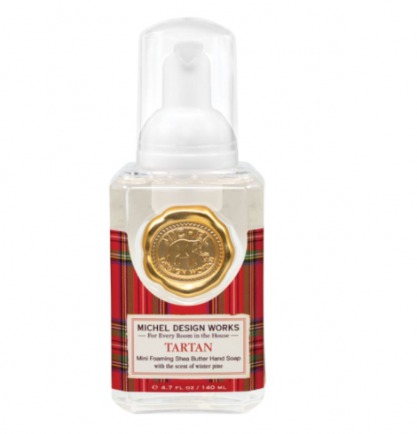 A photo of the Mini Foaming Hand Soap In Tartan product