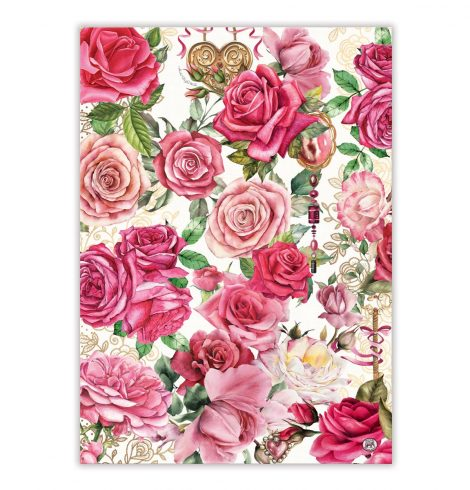 A photo of the Royal Rose Kitchen Towel product