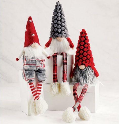 A photo of the Xmas Dangle Leg Gnomes product