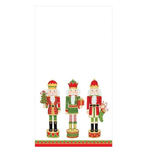 A photo of the Nutcracker Parade Guest Towel Napkins product