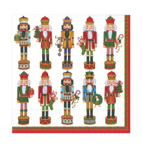 A photo of the Nutcracker Parade Luncheon Napkins product