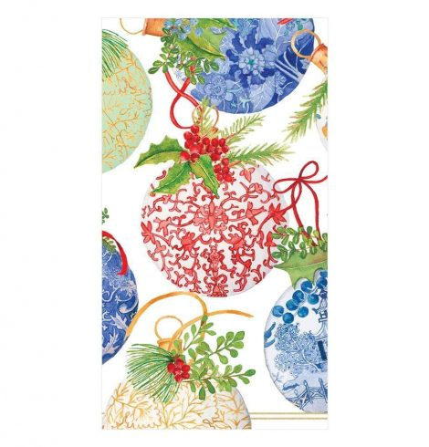 A photo of the Porcelain Ornaments Guest Towel Napkins product