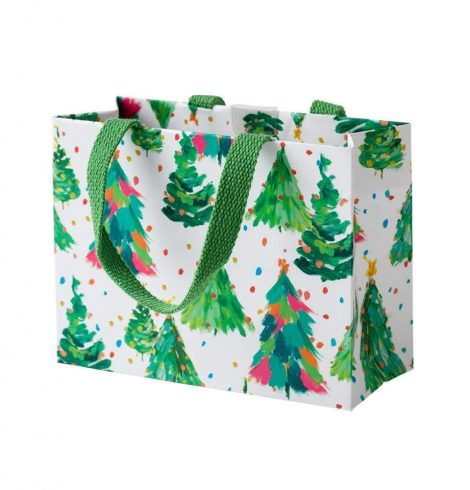 A photo of the Brushstroke Trees Small Gift Bag product