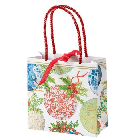 A photo of the Porcelain Ornaments Small Square Gift Bag product