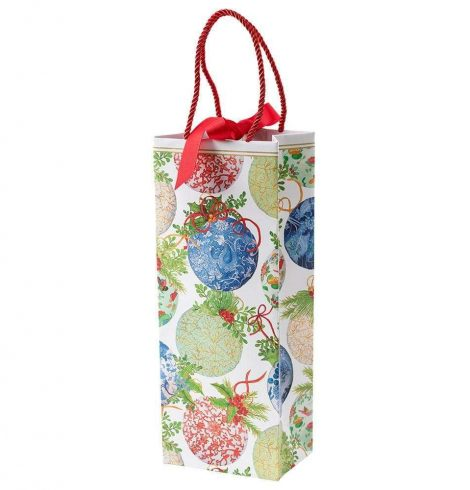 A photo of the Porcelain Ornaments Wine & Bottle Gift Bag product