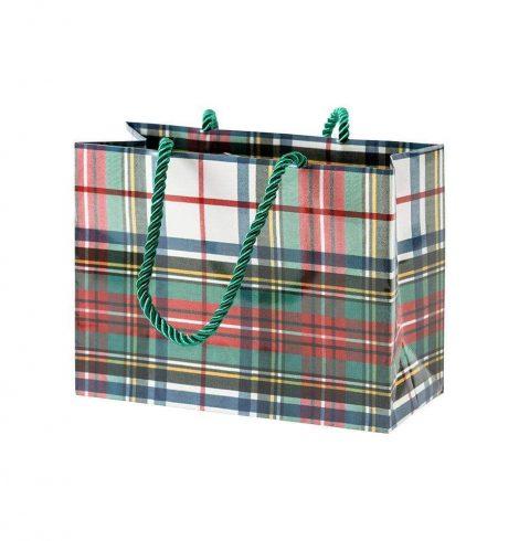 A photo of the Dress Stewart Tartan Small Gift Bag product