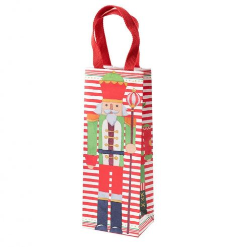 A photo of the March of the Nutcrackers Wine & Bottle Gift Bag product