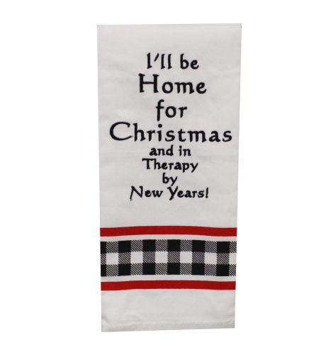 A photo of the Home For Christmas Kitchen Towel product