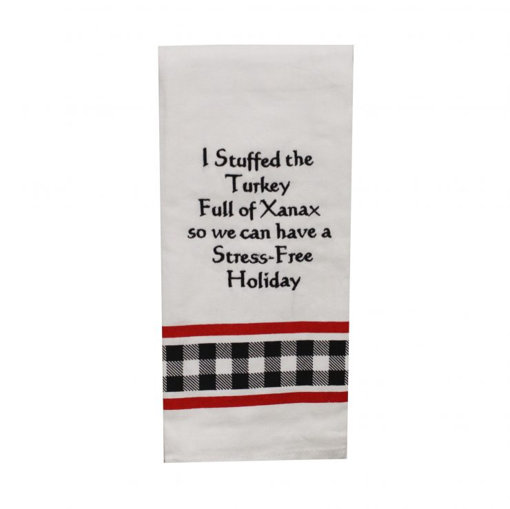 A photo of the Stuffed Turkey Kitchen Towel product