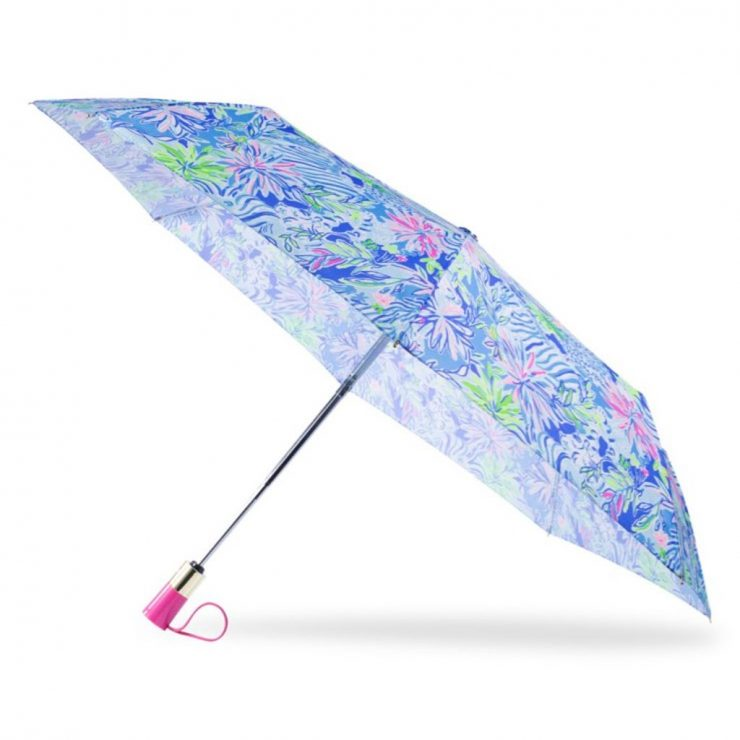 A photo of the Lilly Pulitzer Umbrella In Lion Around product